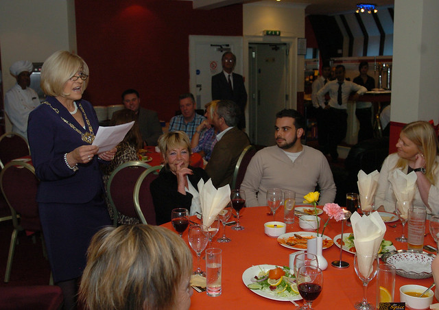 Mafiz Ali opens refurbished Ayr Spice Indian Restaurant function room