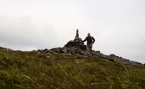 At the summit of Knockmoylan