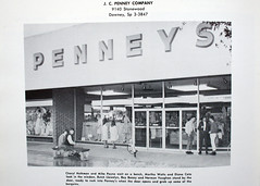 Downey, California   J.  C.   Penny's (The Downey Conservancy) Tags: california ca school j george high c historic penny historical warren society conservancy downey redfox