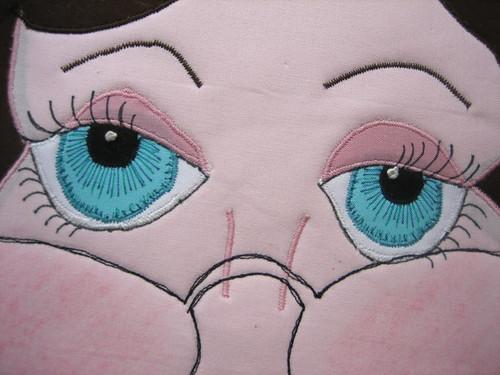 Jen's pretty eyes