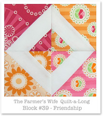 Farmer's Wife Quilt-a-Long - Block 39