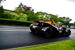 KTM X-Bow (Damien.Fardel) Tags: orange green car pentax ferrari x voiture ktm bow panning fait k20 lambo xbow rarissime k20d linselles