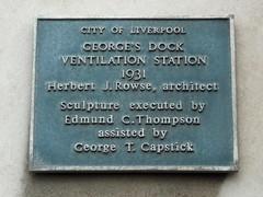 Photo of Herbert J. Rowse blue plaque