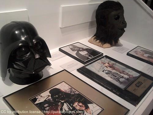 Máscaras de Darth Vader y El Planeta de Los Simios