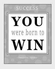 winning attitude poster