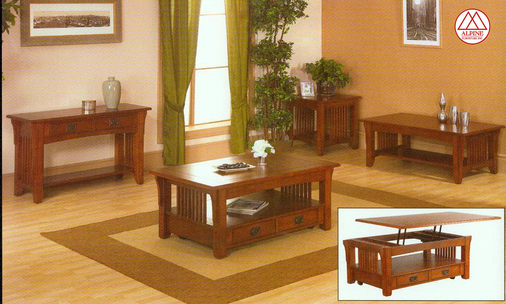 Lift Top Occassional Table Set $599 (Al.232)