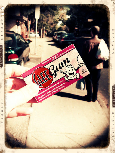 Glee gum!