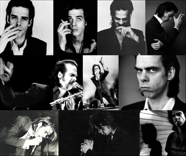 Nick Cave collage