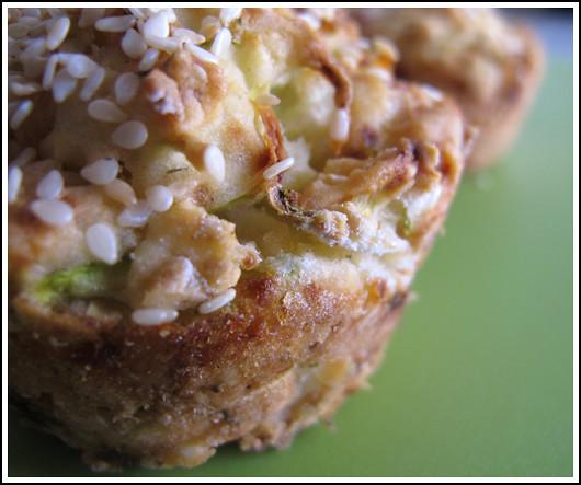 Zucchini Sesame Muffin