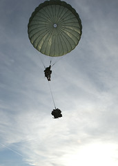 Landing (U.S. Army Europe Images) Tags: canada jump military poland parachute multinational usarmyeurope bumgardner 173rdairbornebrigadecombatteam dragon11