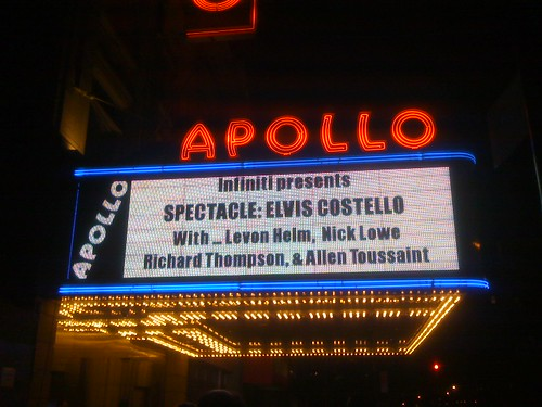 Elvis Costello's Spectacle @ the Apollo