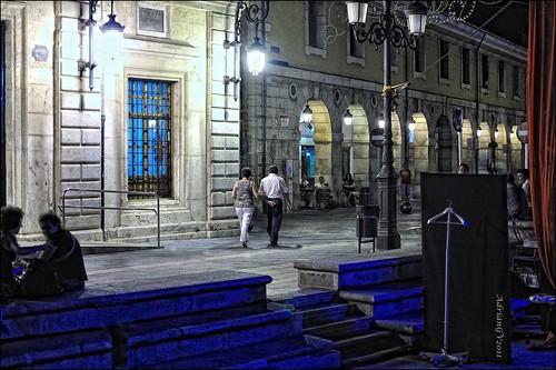 des de l'escenari de la plaça by ADRIANGV2009