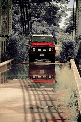 Land Rover Defender Rojo (tomacitooo) Tags: 4x4 venezuela gran landrover arb defender sabana estadobolvar puenteeiffel