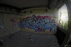 dgngrf [ fabio funky ] (Fabio Funky 1989's) Tags: italy milan writing photoshop graffiti nikon italia milano funky fabio fisheye 1989 1989s d5000 photoshopcs4 nikond5000 fabiofunky