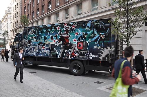 Banksy Turbozone Circus Truck
