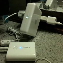 充電したり wifi環境つくったり