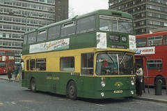 London Country Bus Services Ltd . AF10 JPK110K . West Croydon Bus Station . 22nd-April-1978 .