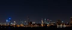 Melbourne Skyline (timhughes) Tags: city beach skyline night geotagged pier pentax melbourne stkilda kilda ocen k7 2011 geo:lat=3786457328566293 geo:lon=14496829477928463