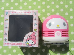 My Melody Desk Cleaner Desktop Accessory (Suki Melody) Tags: hello desktop pink cute rabbit bunny robot office desk top character kitty sanrio clean collection melody kawaii cleaner stationery accessory robotic mymelody