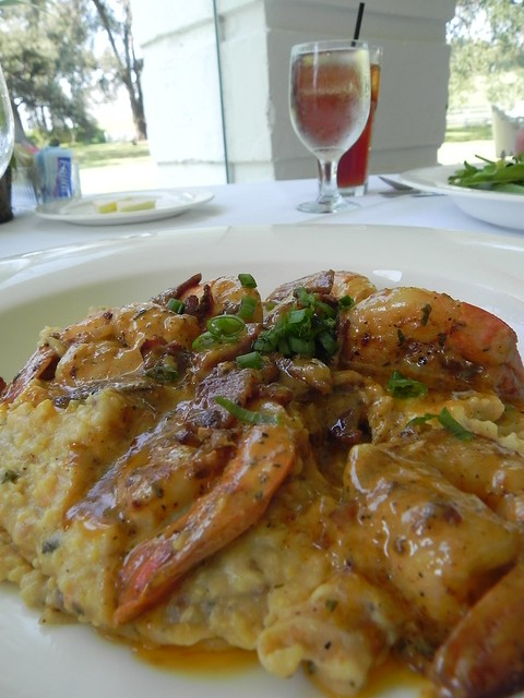 Shrimp and Grits at Nottoway Plantation