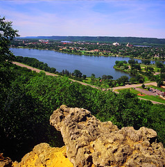 Sugar Loaf Bluff Overlook on Lake Pepin ~ Winona,MN (Wolverine09J) Tags: nature minnesota environment wateroceanslakesriverscreeks themagiceye scenicoverlooks gununeniyisithebestofday sugarloafbluffoverlookwinonamn