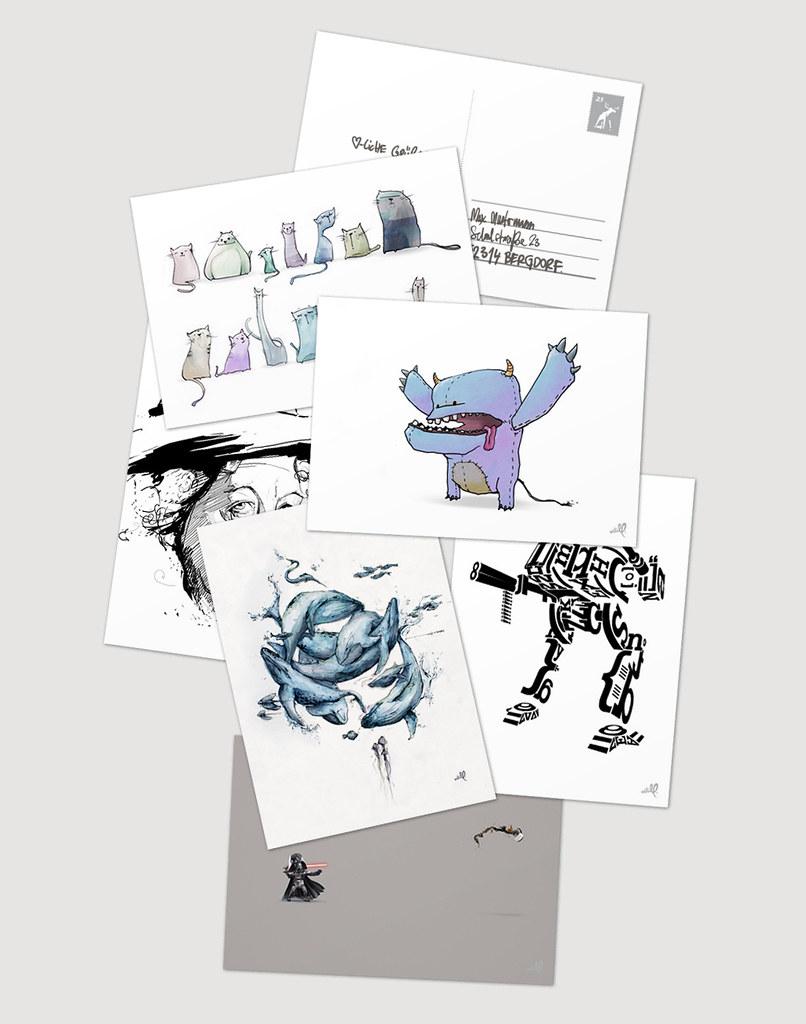 artill postkarten