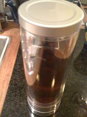 Libre tea glass
