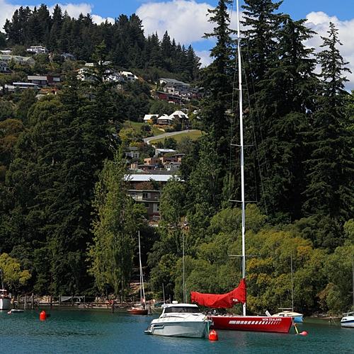 a sailboat in Lake