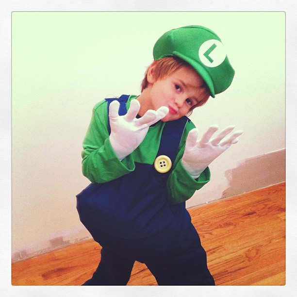 Luigi in the house.....