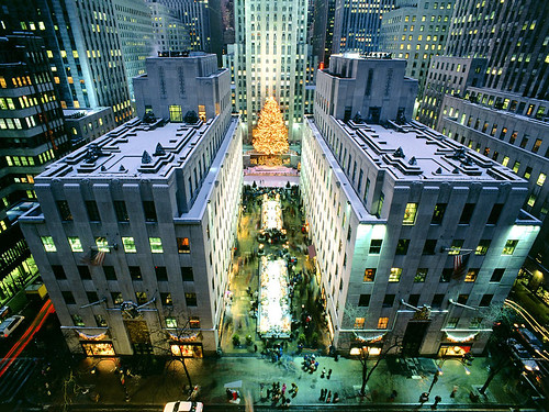 Rockefeller Center by trudeau