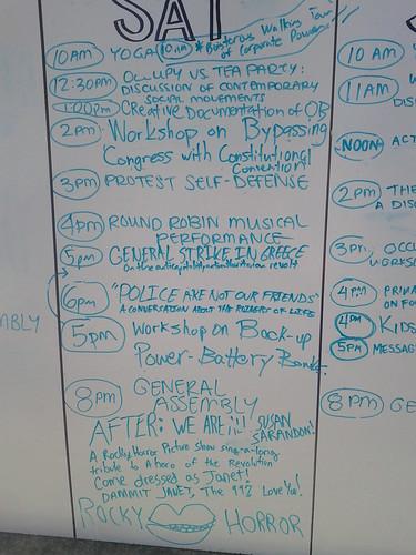 Agenda for 10/8/11