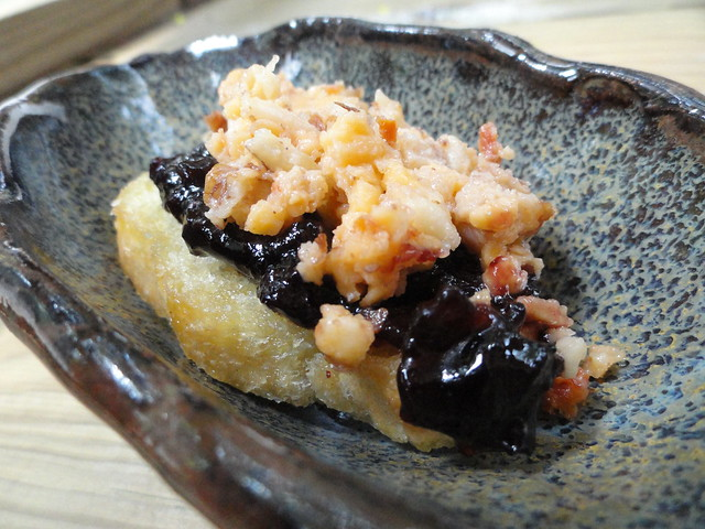PC, Blackberry Jam Crostini