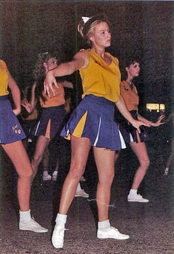 retrospace: mini skirt monday #92: cheerleaders