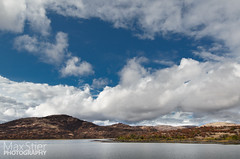 Wichita Mountains Water (maxstier) Tags: sky lake water clouds wichitamountains wichitamountainswildliferefuge lightstorm d7000