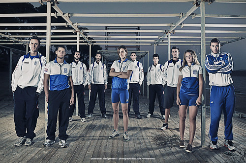 National Hellenic rowing (team photo)