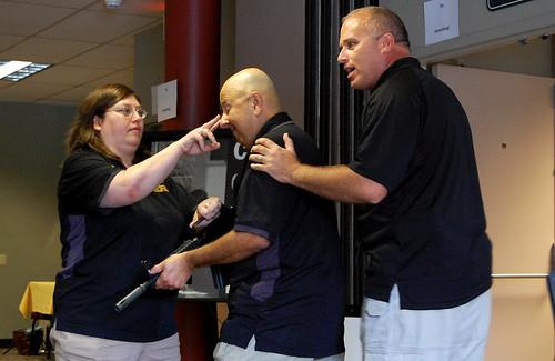 Campus shooting training