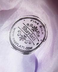 Pink Silk Infiniti Scarf (Shaylati) Tags: pink beautiful face wearing lady america scarf grey necklace blog veil purple photos sale muslim uae eid hijab silk wear gift handpainted saudi half hood shawl niqab sarong shayla gaga infiniti shaylati