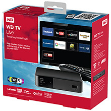 Western Digital WD TV Live streaming media player