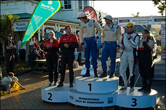 2011 International Rally of Whangarei Ceremonial finish