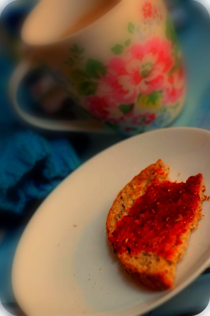 Tea, Toast and Strawberry Jam