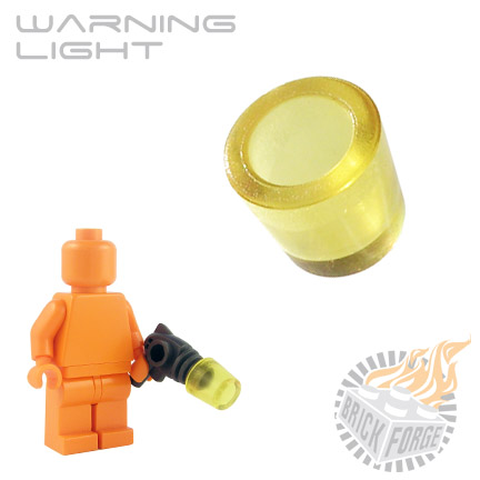 Warning Light - Trans Yellow