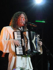 CIMG2787 (DKoontz) Tags: music rock washingtondc dc concert funny casio wierd accordian exilim apocolypse warnertheater weirdalyankovic exf1
