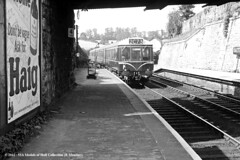 c.1960 - Saltash, Cornwall. (53A Models) Tags: train cornwall diesel railway saltash passengertrain britishrailways dmu class118 brcw birminghamrailwaycarriageandwagoncompany