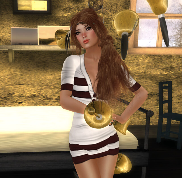 Rugby Dress Group Gift by Vinyl Cafe Group Gift + D!Va Hairs Group Gift