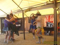 IMG_0252 (Spaceman Spiffy) Tags: city party usa art fire dancing adventure burningman nv blackrockcity teaparty 2011 quixotescabaretpresentstheflashmanarms