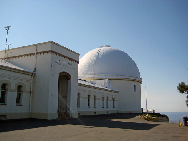 Lick Observatory in the morning