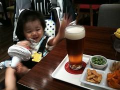 恵比寿麦酒記念館のとらちゃん(2011/9/11)