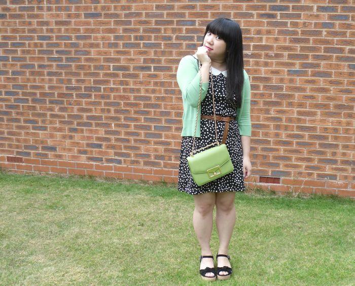 polkadotty dress