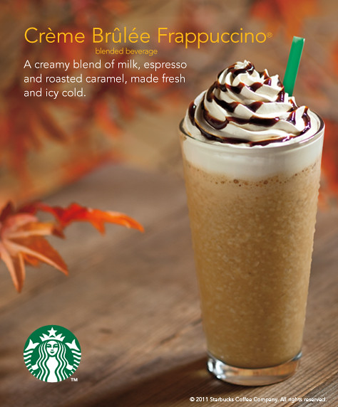 Creme Brulee Frappuccino Poster