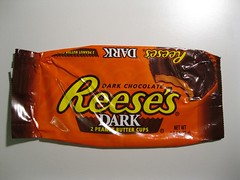 Reese's Dark (Candy Bar Wrappers) Tags: us hersheys reeses